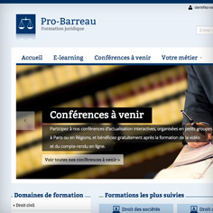 Probarreau conception site e-commerce